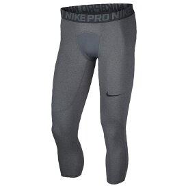 ナイキ Nike メンズ フィットネス・トレーニング タイツ・スパッツ ボトムス・パンツ【pro 3/4 compression tights】Carbon Heather/Dark Grey/Black