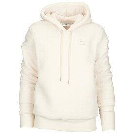 プーマ PUMA レディース パーカー トップス【sherpa hoodie】Birch