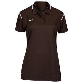 ナイキ Nike レディース ポロシャツ トップス【team gameday polo】Brown/White/White