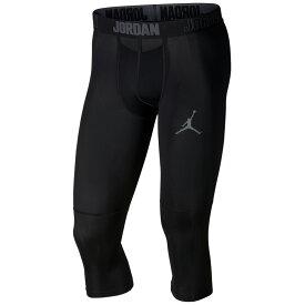 ナイキ ジョーダン Jordan メンズ バスケットボール タイツ・スパッツ ボトムス・パンツ【23 alpha dry 3/4 tights】Black/Dark Grey