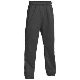 アンダーアーマー Under Armour メンズ ボトムス・パンツ 【team double threat fleece pants】Carbon Heather/Steel