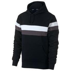 ナイキ Nike SB メンズ スケートボード トップス【icon pullover stripes hoodie】Black/White/Thunder Grey