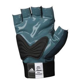 アディダス adidas メンズ アメリカンフットボール グローブ【half finger scorch destroyer 2 lineman】Grey/Black