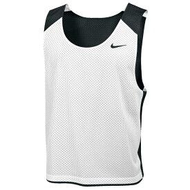 ナイキ Nike メンズ ラクロス タンクトップ トップス【team reversible lacrosse mesh tank】Black/White/Black
