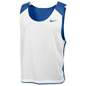 ナイキ Nike メンズ ラクロス タンクトップ トップス【team reversible lacrosse mesh tank】Team Game Royal/White/Team Game Royal