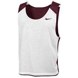 ナイキ Nike メンズ ラクロス タンクトップ トップス【team reversible lacrosse mesh tank】Team Dark Maroon/White/Team Dark Maroon