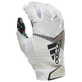 アディダス adidas メンズ アメリカンフットボール レシーバーグローブ グローブ【adizero 5-star 8.0 receiver glove】White All American