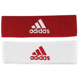 アディダス adidas メンズ ヘアアクセサリー ヘッドバンド【interval reversible headband】Red/White
