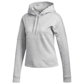 アディダス adidas レディース パーカー トップス【team issue hoodie】Grey