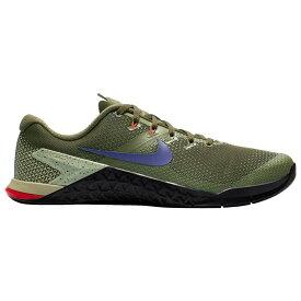 ナイキ Nike メンズ フィットネス・トレーニング シューズ・靴【Metcon 4】Olive Canvas/Indigo Burst/Black/Neutral Olive