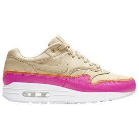 ナイキ Nike レディース ランニング・ウォーキング シューズ・靴【Air Max 1 SE】Desert Ore/Desert Ore/Laser Fuchsia/Orange Peel Icon Clash