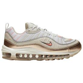 ナイキ Nike レディース ランニング・ウォーキング シューズ・靴【Air Max 98】Light Brown/Lava Glow/Metallic Red Bronze/White Modern Metallic