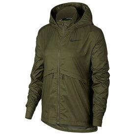 ナイキ Nike レディース フィットネス・トレーニング アウター【Essential Jacket】Olive Canvas/Sequoia Flash