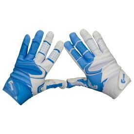 カッターズ Cutters メンズ アメリカンフットボール グローブ【Rev Pro 2.0 Yin Yang Receiver Gloves】Columbia Blue/White Exclusive