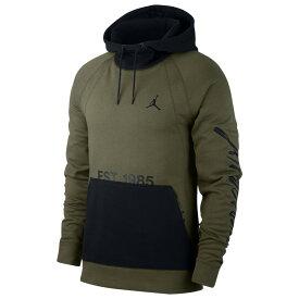 ナイキ ジョーダン Jordan メンズ トップス パーカー【JSW Greatest Pullover Hoodie】Olive Canvas/Black/Black