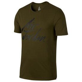 ナイキ ジョーダン Jordan メンズ トップス Tシャツ【JSW Greatest Air T-Shirt】Olive Canvas/Black