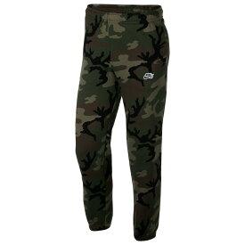 ナイキ Nike SB メンズ ボトムス・パンツ【Icon Camo Fleece Pants】Medium Olive Camo/Black