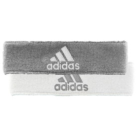 アディダス adidas メンズ ヘアアクセサリー【Interval Reversible Headband】Heathered Aluminum/White