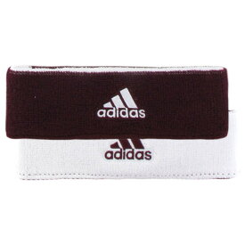 アディダス adidas メンズ ヘアアクセサリー【Interval Reversible Headband】Maroon/White