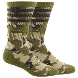 アディダス adidas Originals メンズ インナー・下着 ソックス【Roller Camo II Single Crew Socks】Blanch Cargo/Cargo Brown/Olive Cargo