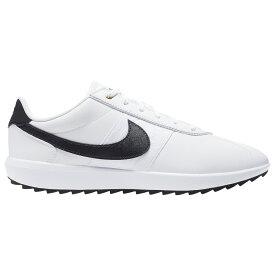 ナイキ Nike レディース ゴルフ シューズ・靴【Cortez G Golf Shoes】White/Black/Metallic Gold