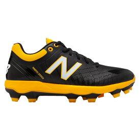 ニューバランス New Balance メンズ 野球 シューズ・靴【4040v5 TPU Low】Black/Yellow