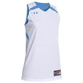 アンダーアーマー Under Armour レディース バスケットボール トップス【Team Clutch Reversible Jersey】Team Carolina Blue/White