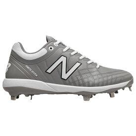 ニューバランス New Balance メンズ 野球 シューズ・靴【4040v5 Metal Low】Grey/White