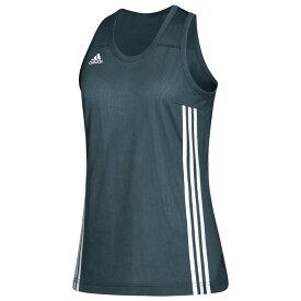 アディダス adidas レディース バスケットボール トップス【Team 3G Speed Reversible Jersey】Onix/White