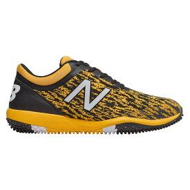 ニューバランス New Balance メンズ 野球 シューズ・靴【4040v5 Turf】Black/Yellow