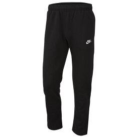 ナイキ Nike メンズ ボトムス・パンツ 【Club Open Hem Pants】Black/White