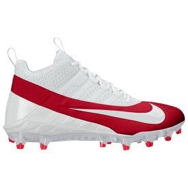 ナイキ Nike メンズ ラクロス シューズ・靴【Alpha Huarache 6 Pro LAX】White/White/University Red/Wolf Grey