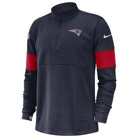 ナイキ Nike メンズ トップス ハーフジップ【NFL Therma 1/2 Zip Pullover Jacket】College Navy