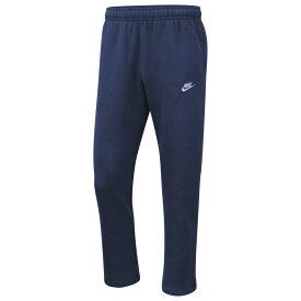 ナイキ Nike メンズ ボトムス・パンツ 【Club Open Hem Pants】Midnight Navy/White