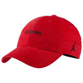 ナイキ ジョーダン Jordan ユニセックス キャップ 帽子【H86 Corduroy Cap】Gym Red/Black