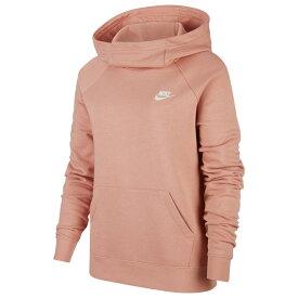ナイキ Nike レディース パーカー トップス【Essential Funnel Neck P/O Hoodie】Pink Quartz/White