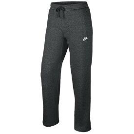 ナイキ Nike メンズ フリース トップス【Club Open Hem Fleece Pants】Charcoal Heather/White