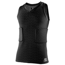 マクダビッド McDavid メンズ アメリカンフットボール タンクトップ トップス【Hex 3 Pad Tank Shirt】Black