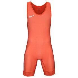 ナイキ Nike メンズ レスリング シングレット トップス【Grappler Elite Wrestling Singlet】Orange