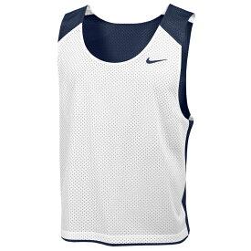 ナイキ Nike メンズ ラクロス タンクトップ トップス【Team Reversible Lacrosse Mesh Tank】Team College Navy/White/Team College Navy