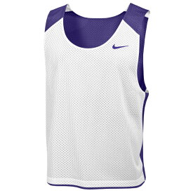 ナイキ Nike メンズ ラクロス タンクトップ トップス【Team Reversible Lacrosse Mesh Tank】Team Court Purple/White/Team Court Purple