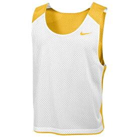 ナイキ Nike メンズ ラクロス タンクトップ トップス【Team Reversible Lacrosse Mesh Tank】Team Bright Gold/White/Team Bright Gold