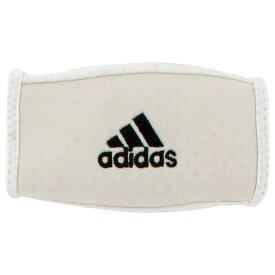 アディダス adidas ユニセックス アメリカンフットボール チンストラップ【Team Football Chin Strap Pad】White