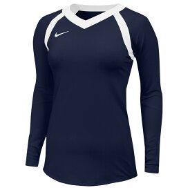 ナイキ Nike レディース バレーボール トップス【Team Agility Jersey】Team College Navy/White/White