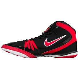 ナイキ Nike メンズ レスリング シューズ・靴【Freek】Black/Game Red/White