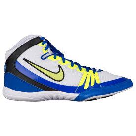 ナイキ Nike メンズ レスリング シューズ・靴【Freek】White/Racer Blue/Volt