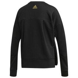 アディダス adidas Athletics レディース トップス 【Glam ID Crew】Black