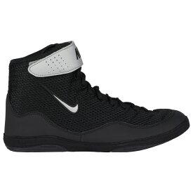ナイキ Nike メンズ レスリング シューズ・靴【Inflict 3】Black/Metallic Silver/White