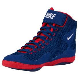 ナイキ Nike メンズ レスリング シューズ・靴【Inflict 3】Deep Royal/White/University Red