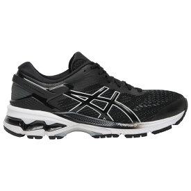 アシックス ASICS レディース ランニング・ウォーキング シューズ・靴【GEL-Kayano 26】Black/White